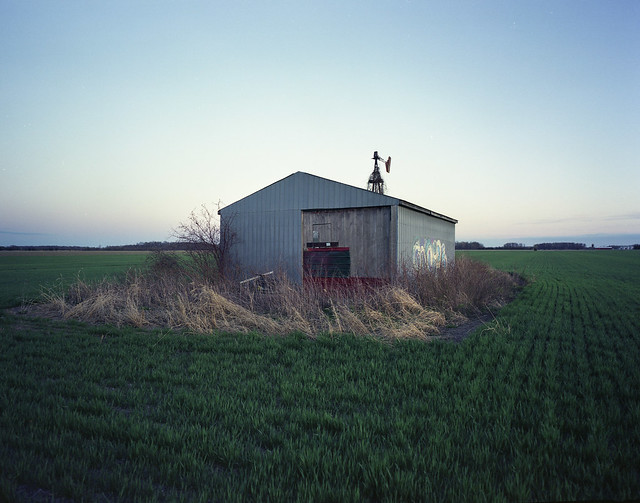 Expired Shed on Expired Film...