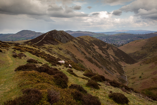 Looking Over Church Stretton