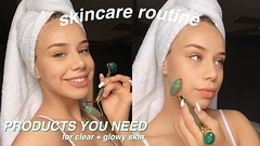 my skincare routine for hydrated and glowy skin | morning + night products you NEED!! ft. foreo