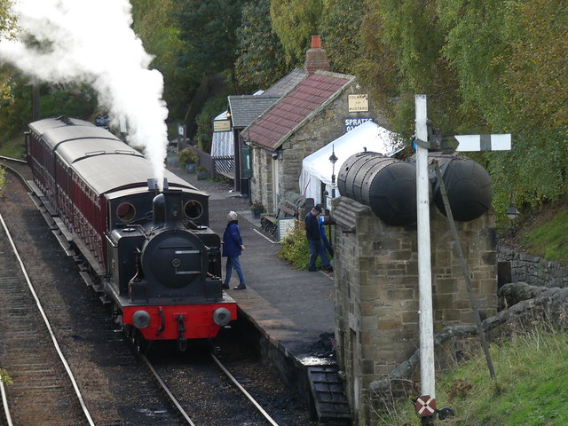 P1030296 - 2019-10-12 - Tanfield - Run-It week-end -  Twizell at Andrews House Station