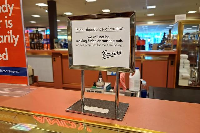 Boscov's candy counter closed [02]