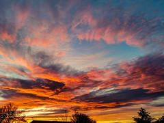 Amazing sunset tonight