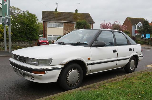 1992 Toyota Corolla 1.3 GL auto