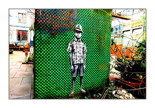 Festplattenfund Street Art Hamburg