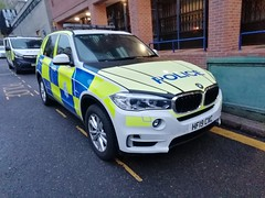 Nottinghamshire Police BMW X5 City Policing HX19 CXC