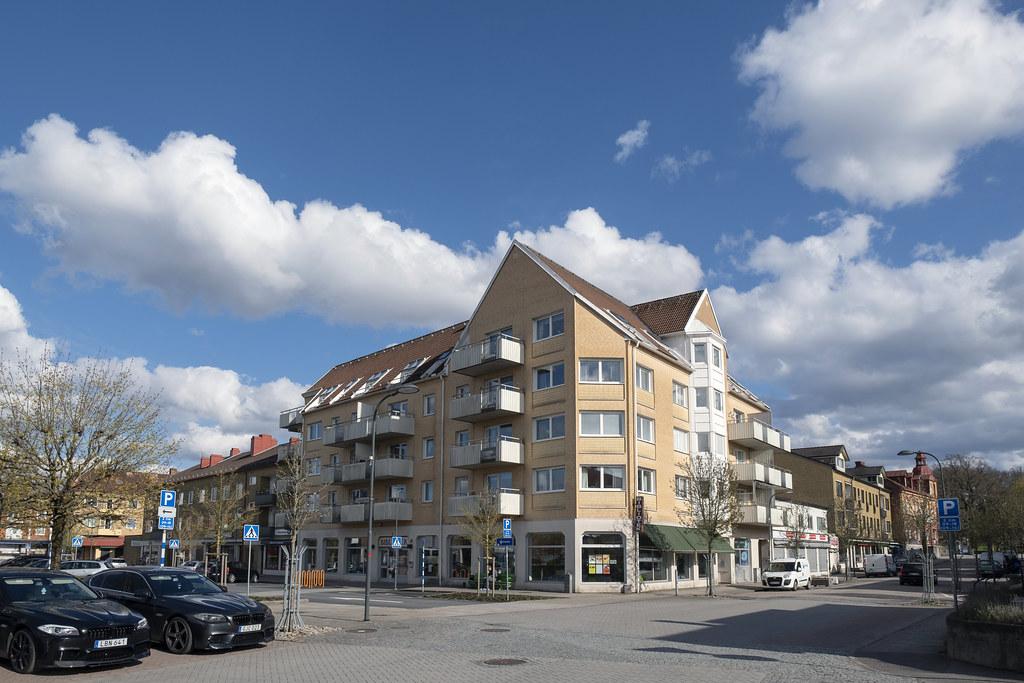 20210508 Flerbostadshus och bibliotek Kopmansgatan i Perstorp_01