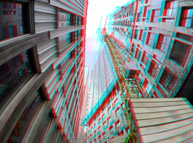 Gapersteeg Rotterdam 3D Rokinon 8mm