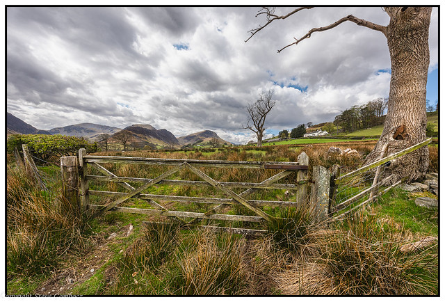 Old Gate. Newlands Valley.
