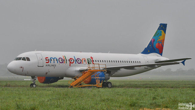 Small Planet Airlines Cambodia 🇰🇭 Airbus A320-200 XU-801
