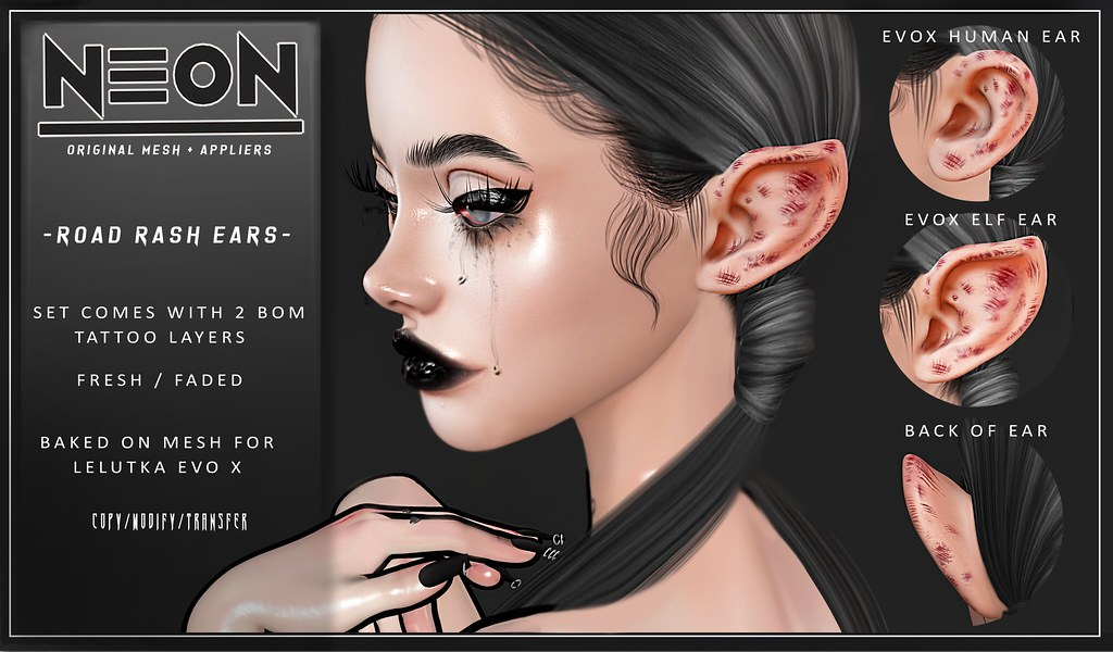 NEON – ROAD ROASH EARS – (PANDORA FAIR EVENT EXCLUSIVE)