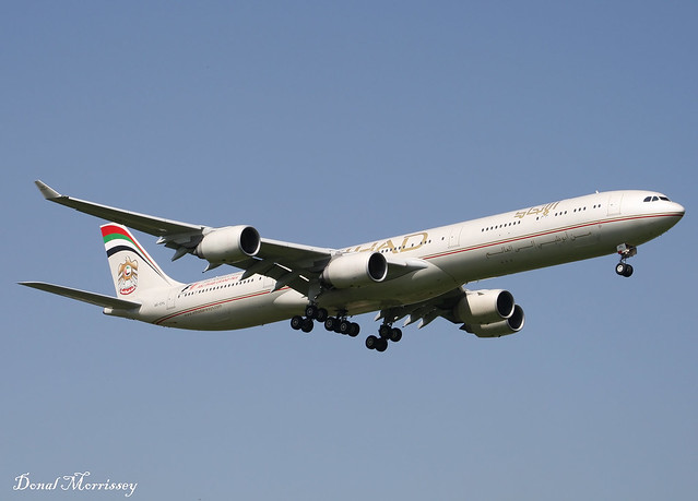Etihad Airways A340-600 A6-EHL