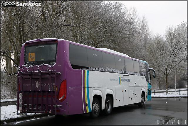 Scania Touring – Transdev – STAO 72 (STAO PL, Société des Transports par Autocars de l'Ouest – Pays de la Loire) / Aléop – Pays de la Loire n°25609