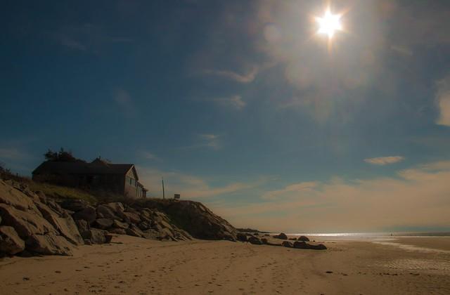 Beach House on the Rocks...
