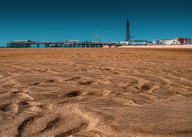 Golden sands and the Tower