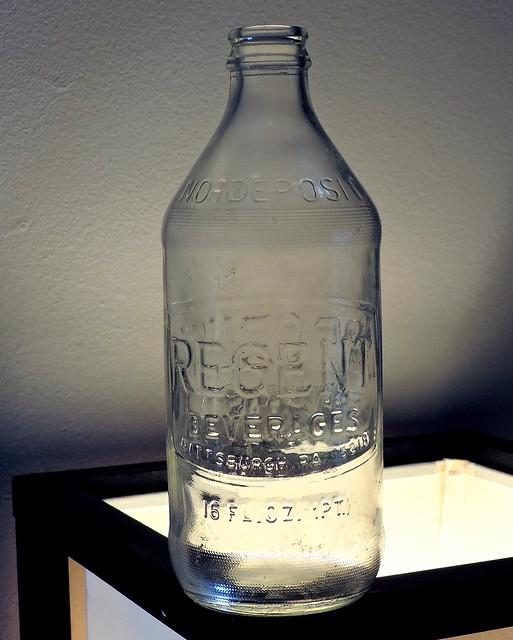 1972 Regent Soda Bottle