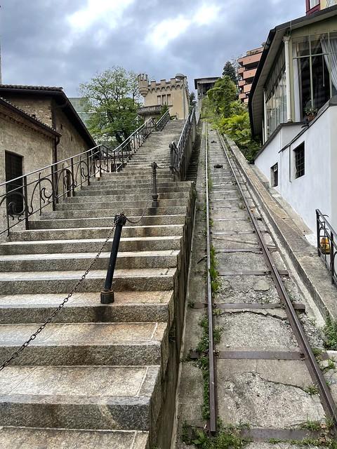 Scalite delle Angioli, Lugano