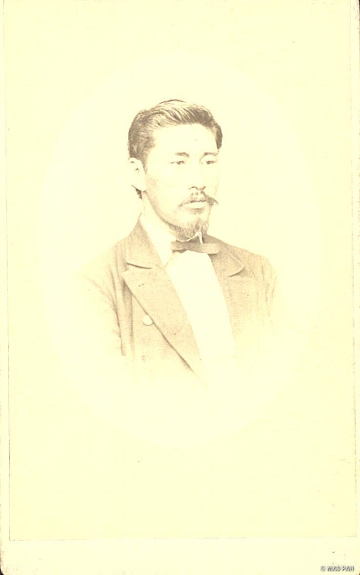Портрет командира корвета «Ниссинкан», префектура Нагасаки, Нагасаки