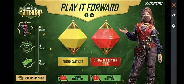 Free Fire Ramadan_Play It Forward