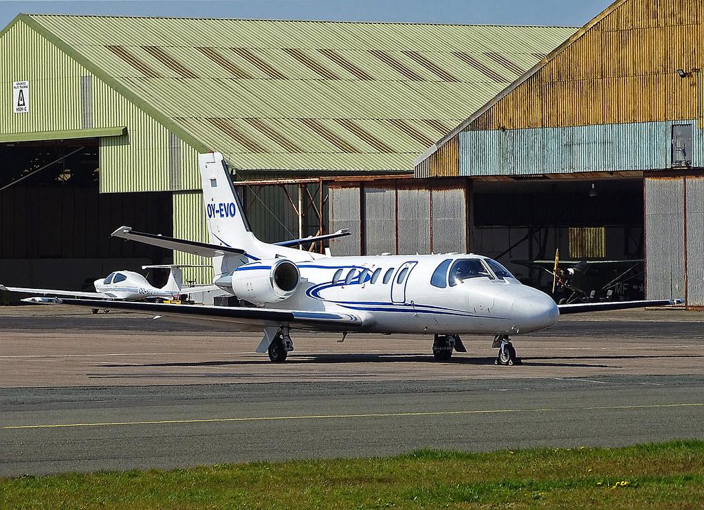OY-EVO Cessna 550 Citation II Bravo