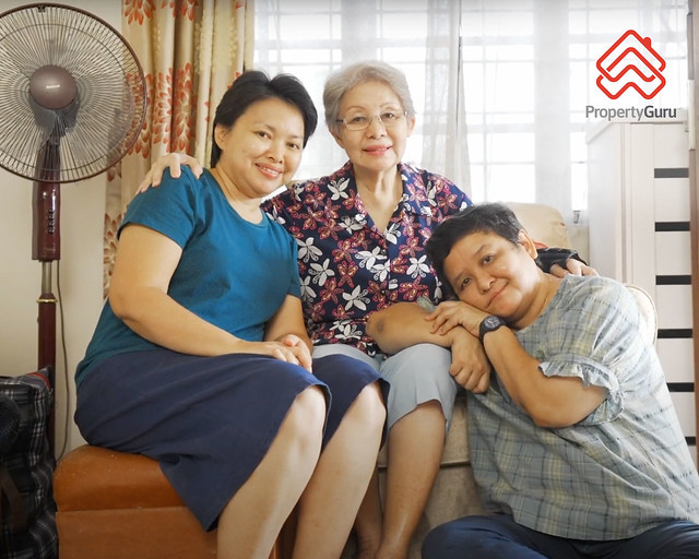 PropertyGuru Home Giveaway_Jacqueline Caroline Sammy (far right)