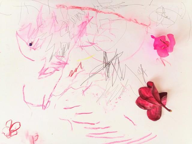 129/365: pondering in pink