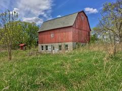 Barn at Dodge Nature Center In Mendota Heights Minnesota