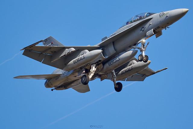 165528  McDonnell Douglas F/A-18D Hornet VMFA(AW)-224