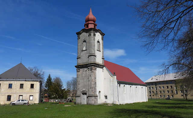 2021-05-09 Church in Nová Ves (near Bečov nad Teplou)