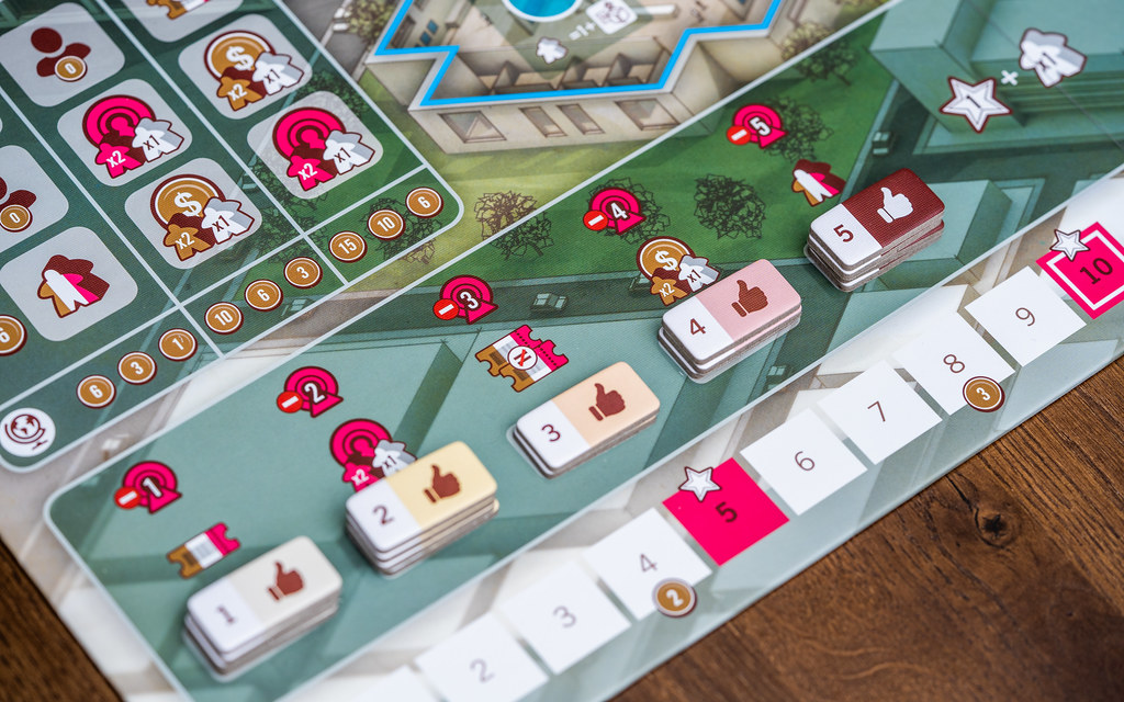 The Gallerist boardgame juego de mesa