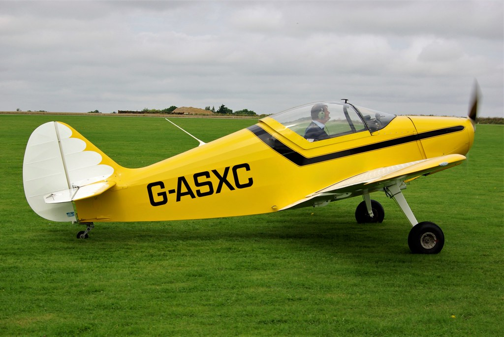 G-ASXC - SIPA S.901   Sywell