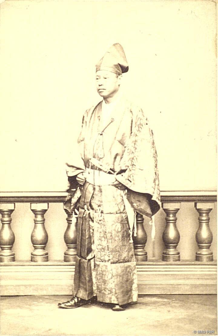 Портрет графа Нобуёси Сава, чрезвычайного посланника и полномочного министра Японии в России