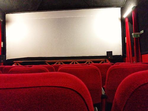 finalmente cinema!