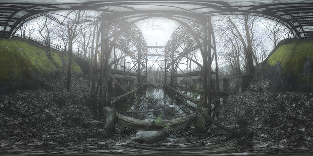 abandoned wagon elevator 360°