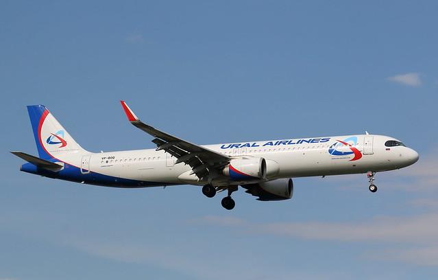 Ural Airlines   A321-200NX   VP-BOQ   HAM/EDDH   09.05.2021