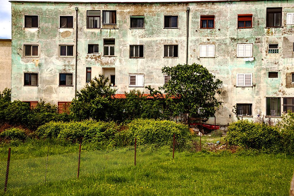 Tenement on southeastern edge of town on 5-7-21--Skhoder