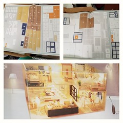 I just opened a DIY kit from a new brand. It has a wood map.