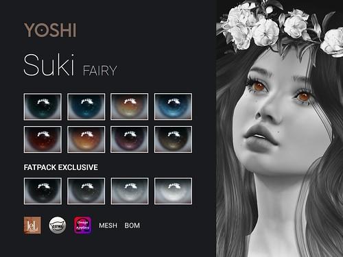 YOSHI Suki Fairy Eyes @ the Enchantment
