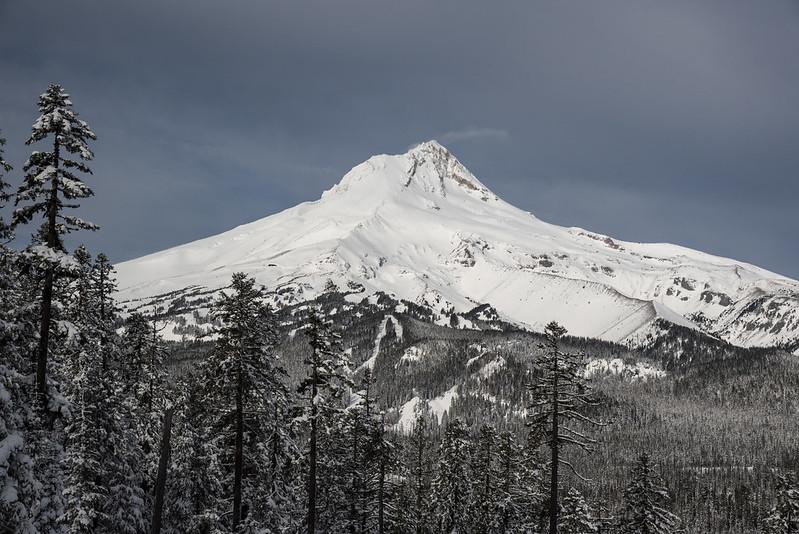 Bennett Pass Snowshoeing