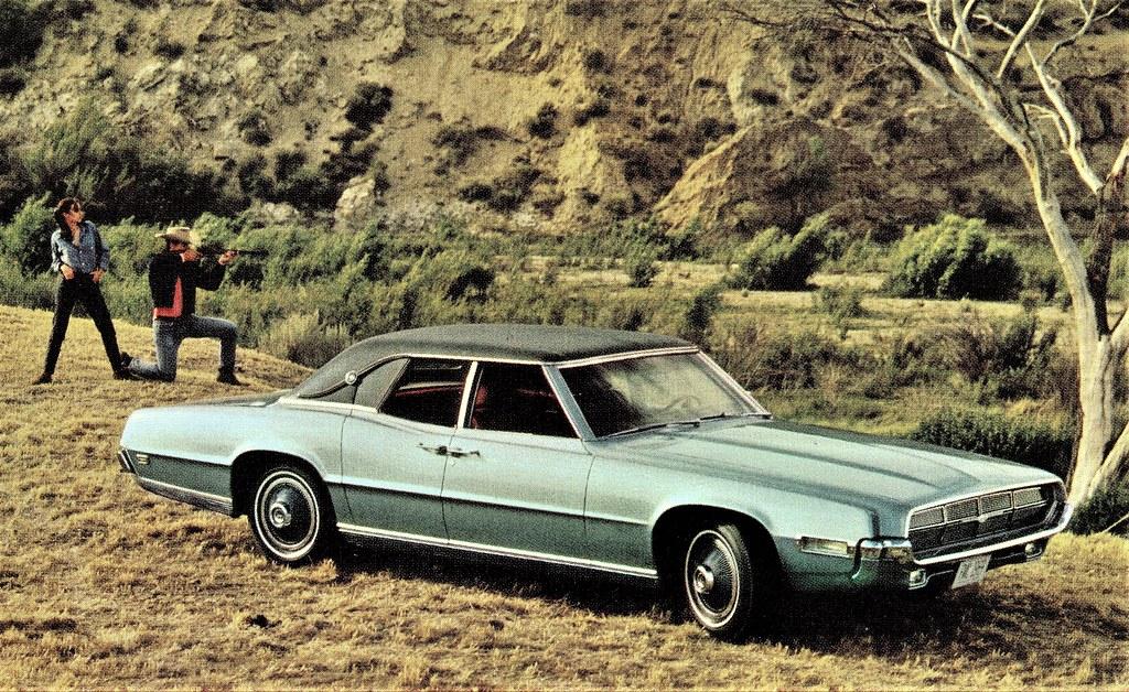 1969 Ford Thunderbird 4-Door Landau