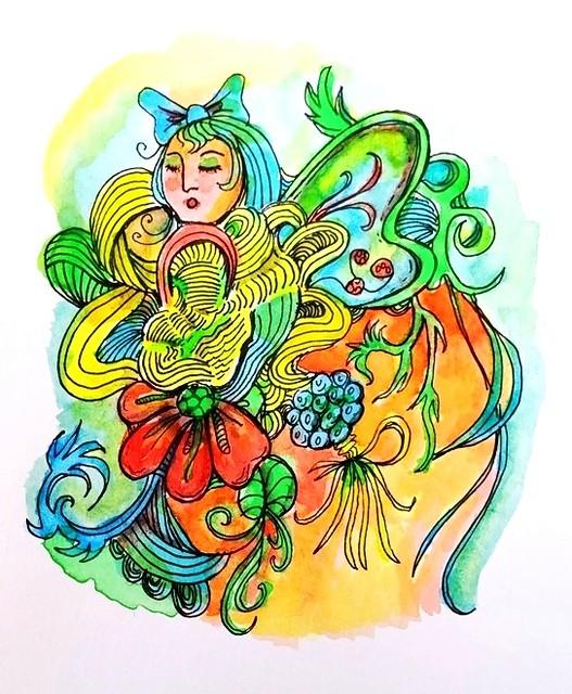 Watercolour Doodle