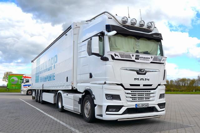 D - MAN TGX GX Individual - Mahnkopp Transporte
