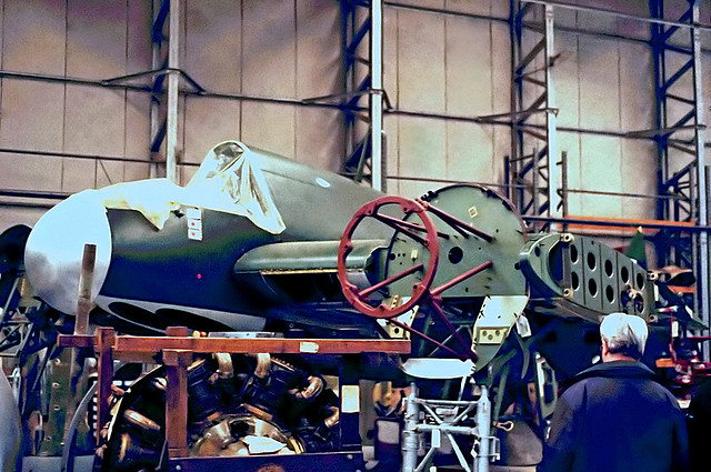 A8-324   Bristol Beaufighter Mk.21 [DAP324] (Ex Royal Australian Air Force /The Fighter Collection) Duxford~G (date unknown) @ 1999