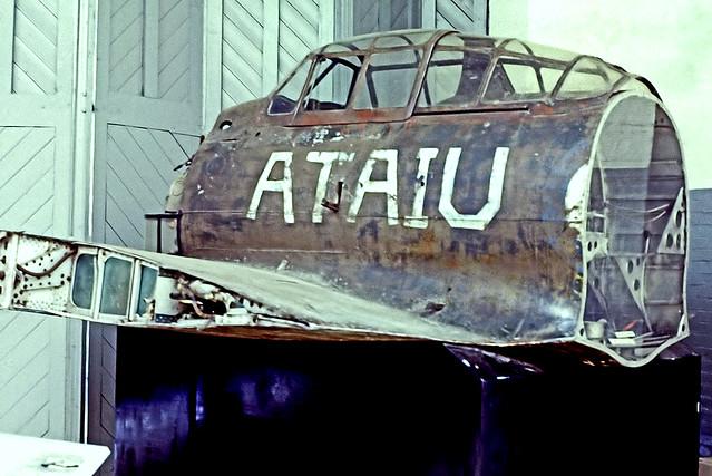 B1-05   Mitsubishi A6M5-52 Zero [96] (Ex Imperial Japanese Navy / Imperial War Museum Duxford) Duxford~G (Date unknown) @ 1996