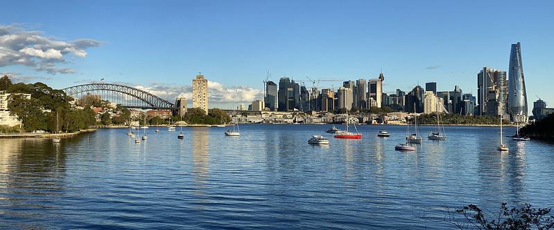 Sydney from Waverton Park