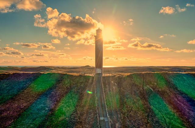 Grote Kaap Lighthouse, Holland.