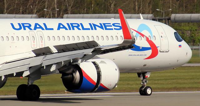 Ural Airlines, VP-BOQ,MSN 9073,Airbus A321-251NX, 09.05.2021,HAM-EDDH, Hamburg