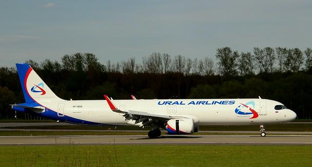 Ural Airlines, VP-BOQ,MSN 9082,Airbus A321-271NX, 09.05.2021,HAM-EDDH, Hamburg