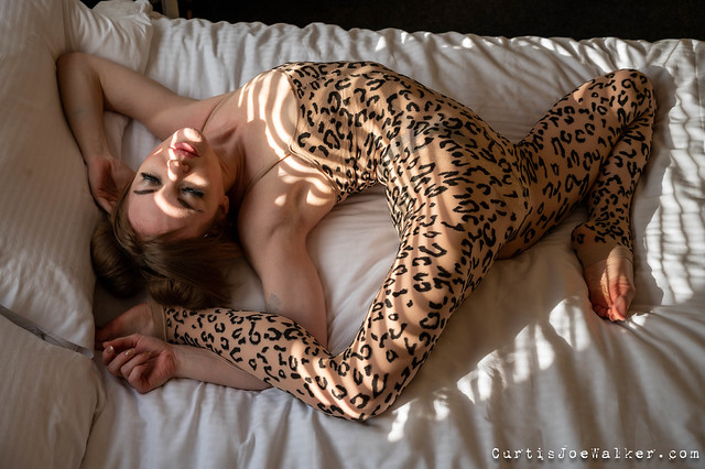 The cheetah with stripes