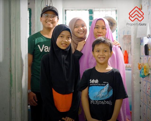 PropertyGuru Home Giveaway_Faridah Harris (third from left)