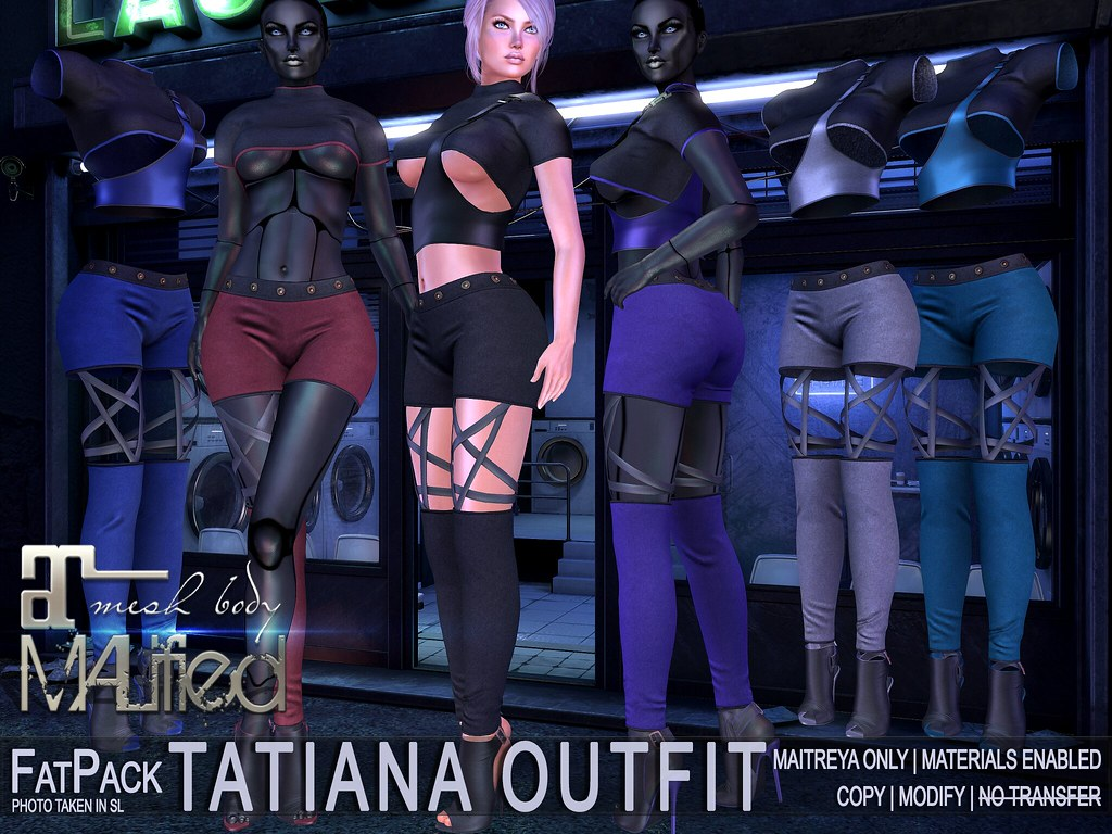MALified – Tatiana Outfits – FatPack